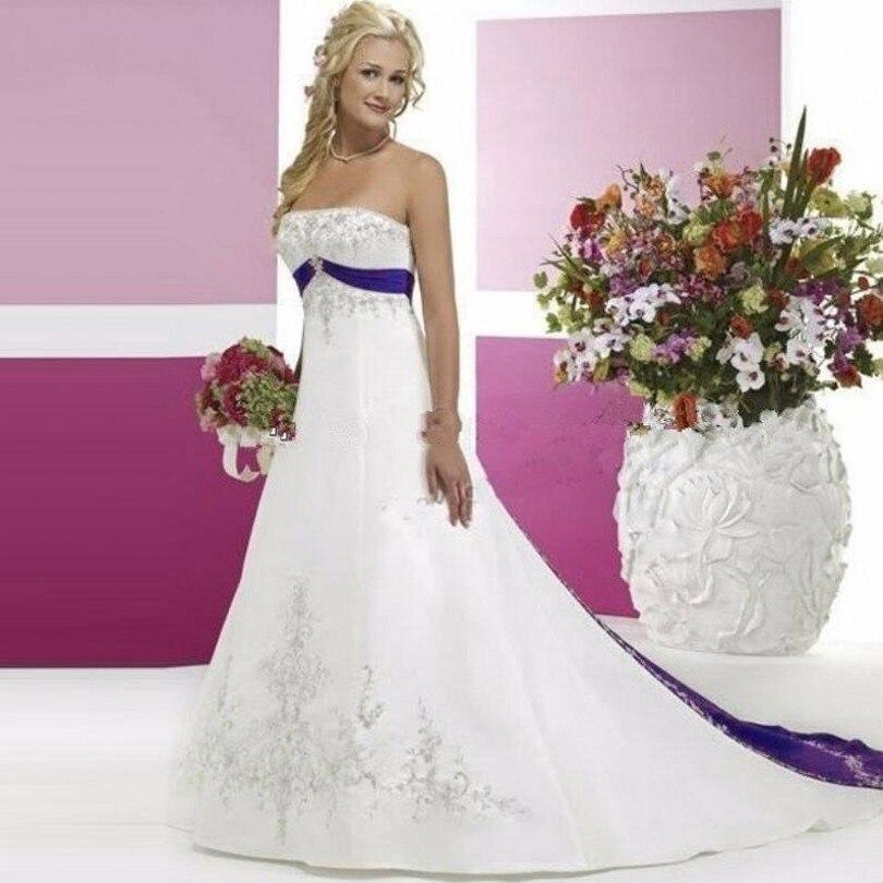 Popular Purple Train Wedding DressBuy Cheap Purple Train Wedding