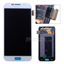 Comercio al por mayor de 100{e3d350071c40193912450e1a13ff03f7642a6c64c69061e3737cf155110b056f} pantalla lcd de pantalla táctil digitalizador Original Para Samsung galaxy S6 G920f G920i G920P G920V G920A freeshipping