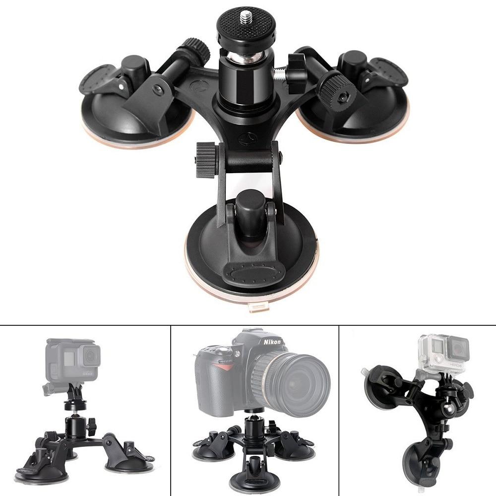 Driving Recorder Car Suction Cup Car Sucker Holder for Xiaomi Yi 4K yi lite Sjcam Eken Camera Accessories for Gopro Hero 7//6//5//4