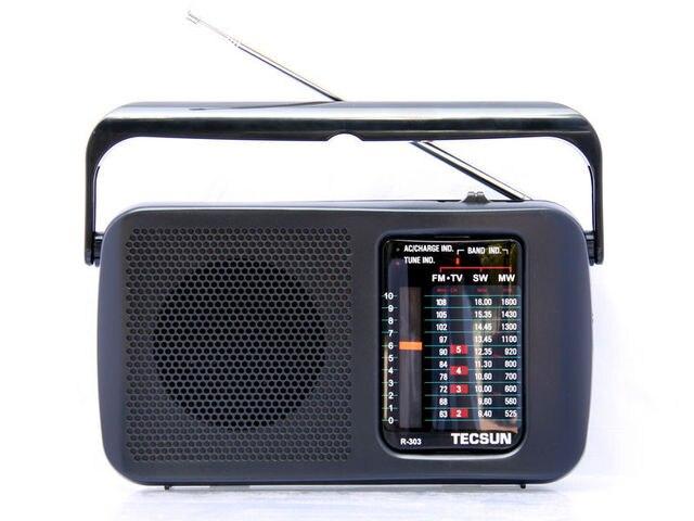 TECSUN R-303 FM/MW/SW/ТЕЛЕВИДЕНИЕ Радио