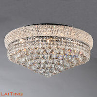 Laiting Lighting Crystal Luster Charming Bedroom Ceiling Lighting LED Lamp +Free shipping