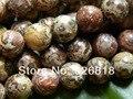 Frete grátis (2 fios/set) de alta qualidade de 10mm charme mix contas de pedra de jaspe pele de leopardo