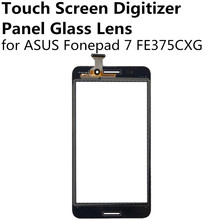 New Black Touch Screen Digitizer Panel Glass Lens Sensor for ASUS Fonepad 7 FE375CXG Fonepad7 Replacement Parts Repair Part