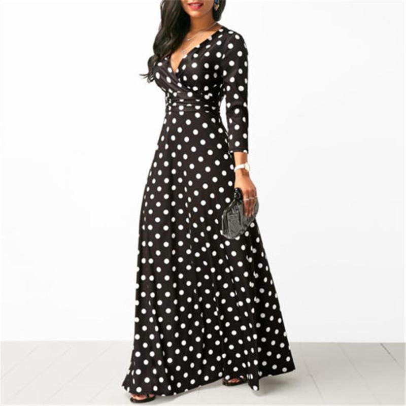 My Fashion Store Womens Long Sleeve Dress