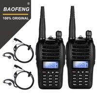2PCS BaoFeng UV B6 Portable Walkie Talkie UV B6 Two Way Radio Dual Band VHF/UHF Woki Toki 5W FM Radio Transceiver