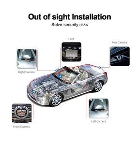Image 4 - 1080スーパーhd 360度バードビューシステムパノラマビュー車カメラ4 CH dvrレコーダーgセンサーdvr quadコアcpu