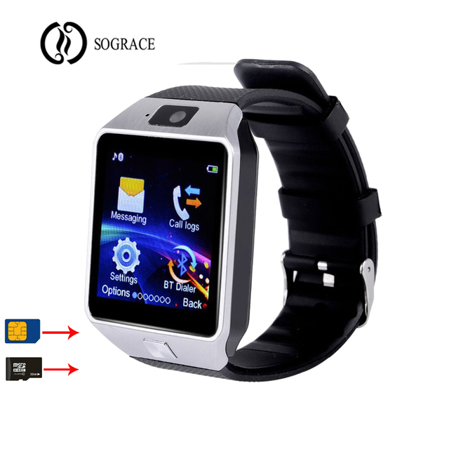 Men Women Smart Watch DZ09 WristWatch Support With Camera Bluetooth SIM TF Card Smartwatch For Android Phone Sport Watch Gift