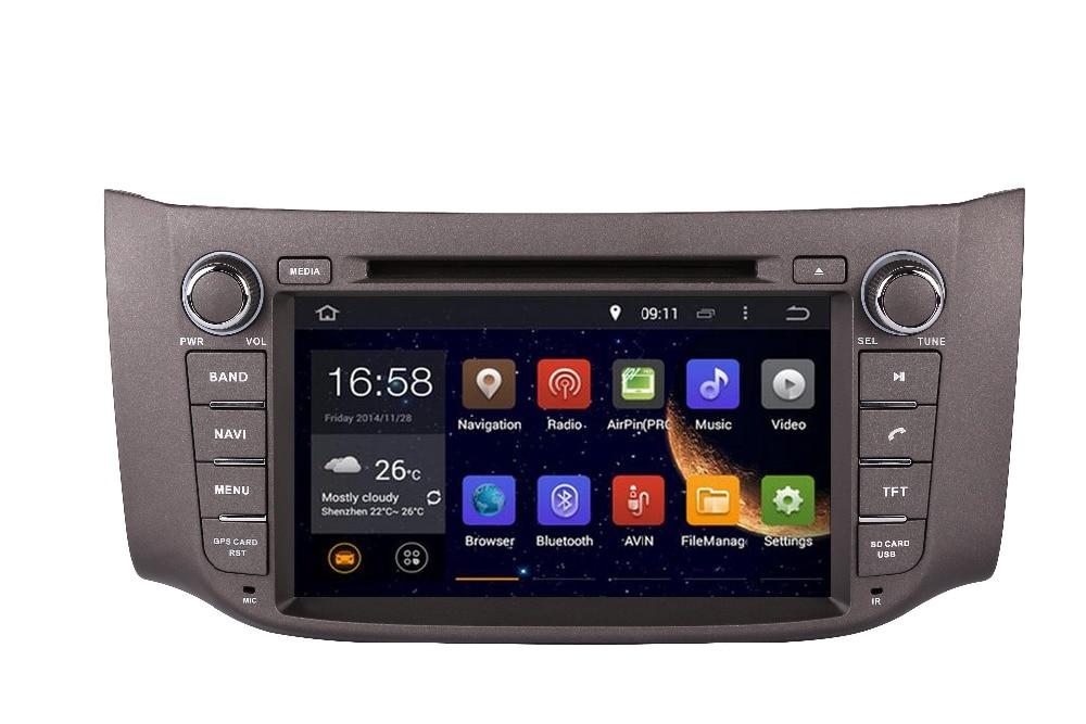 Octa/Quad Core Android Fit Nissan SYLPHY , Sentra (North America) , Pulsar (Australia)2012 2013 2014 2015 2016 3G GPS Radio DVD