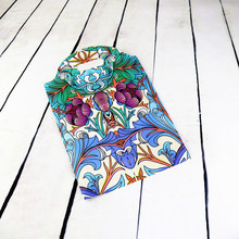 Wholesale 50pcs Rich flowers printed Plastic Bag 25x35cm Big Jewelry Boutique Gift Packaging Plastic Storage bags With Handle