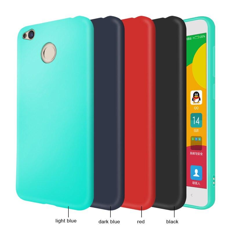 4A 4X Case For Xiaomi Redmi 4X 4A 4 Pro Case Cover Silicone Soft Thin TPU 4X Redmi Phone Bag Case For Xiomi Redmi 4A 4X