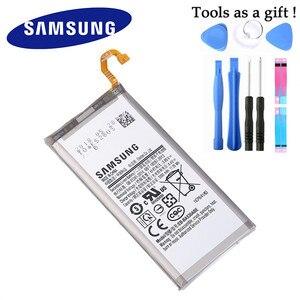 Image 2 - Samsung Batteria Originale per Samsung Galaxy Galaxy A8 2018 (A530) A530 SM A530F 3000 mAh Batterie di Ricambio Del Telefono EB BA530ABE