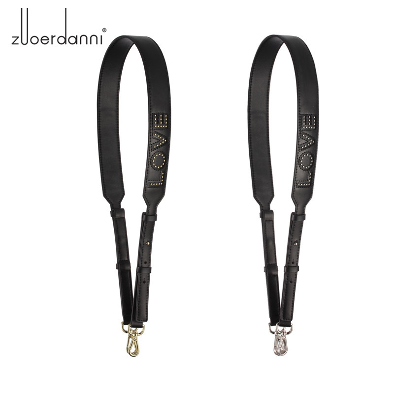 2018 Fashion LOVE Design Strap Bags Strap Handbags Women New Style Quality Genuine Leather Bag Strap Bag Parts & Accessories