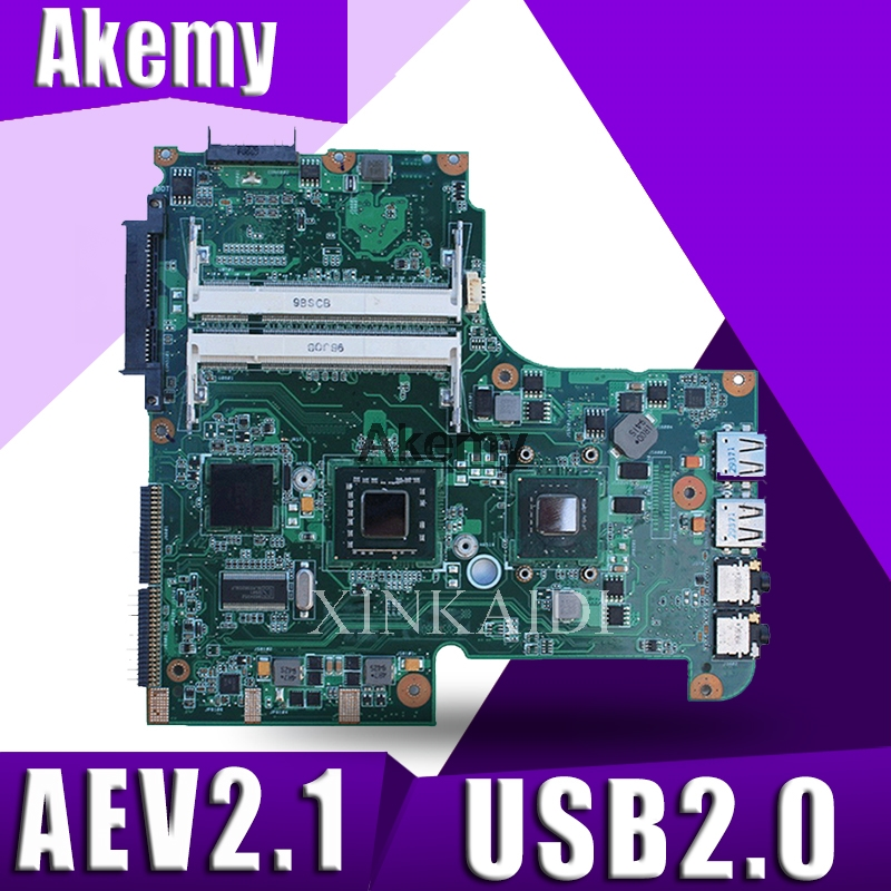 UL20A Motherboard For ASUS UL20A CPU:SLGYV Laptop Motherboard REV2.1 USB2.0 DDR2 Mainboard USB2.0 DDR2 Free Shipping