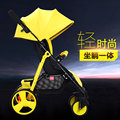 Baby carriage easily carried and folded summer baby stroller for children yellow blue purple ref four color cart baby pram