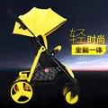 Carrinho de bebê pode ser facilmente transportada e dobrado carrinho de bebê de verão para crianças azul amarelo roxo ref carrinho de bebê carrinho de bebê de quatro cores