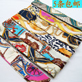 2014 h fashion silk scarf bags handle bandage hair band small bow tie accounterment all-match personality 5