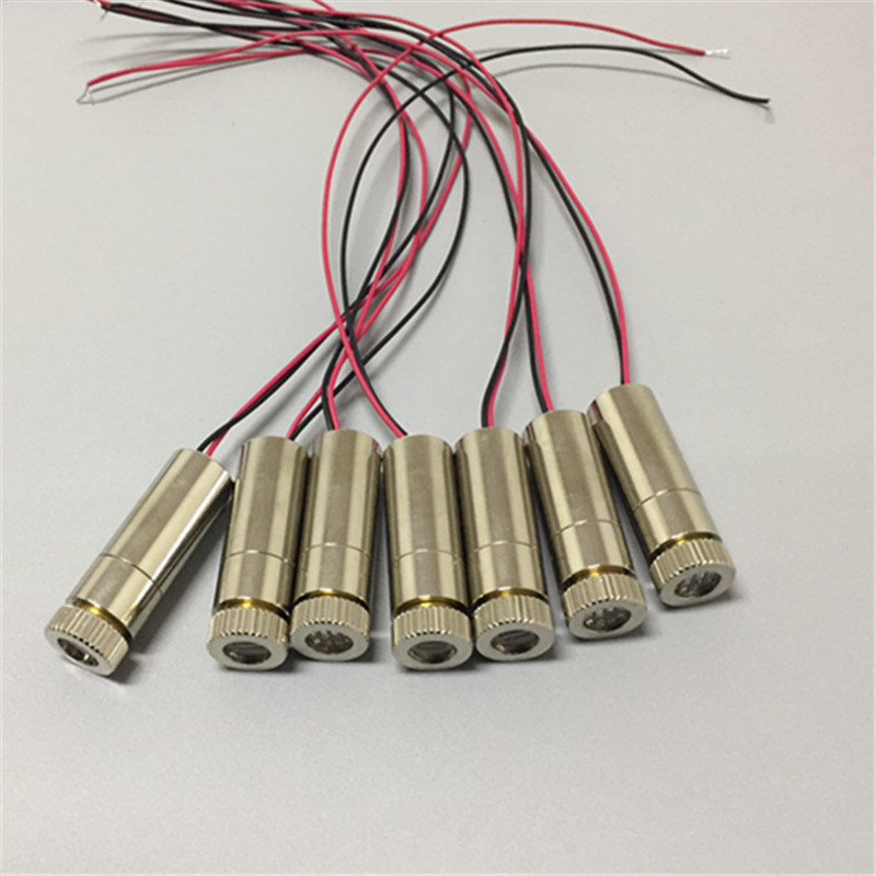 12mm 650nm 5mW Red DOE Laser Module  Focusable Industrial