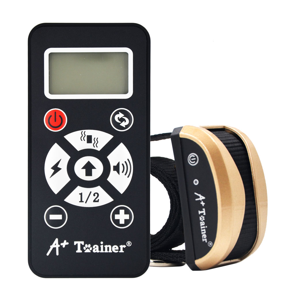 New 2 in 1 dog training collars vibration electric shock sound Automatic anti bark collar IP7