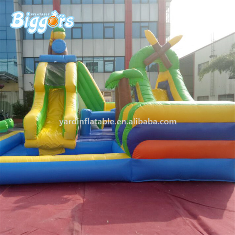Inflatable water pool slide inflatable water slide with pool with blowers backyard inflatable water slide pool jeu gonflable inflatable water slide for sale with blowers