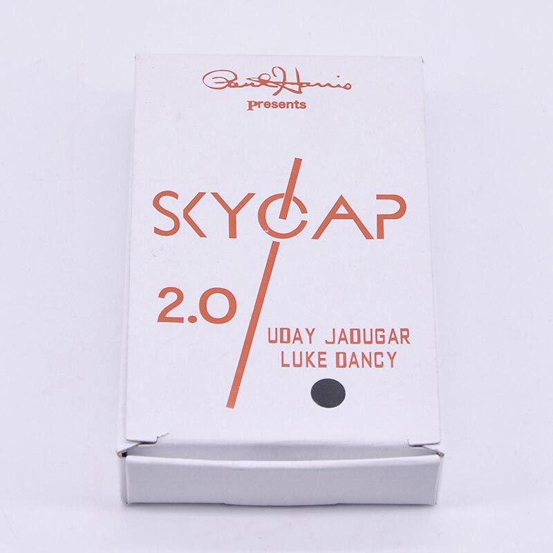 Skycap 2,0 (Schwarz Kappe) Zaubertricks Flasche Kappe Eindringen Magie Close Up Illusion Gimmicks Requisiten Mentalismus Komödie