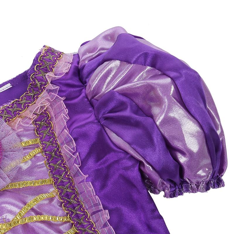 Meisjes Sparkly Prinses Rapunzel Kostuum Met Karakter Cameo - Carnavalskostuums - Foto 5