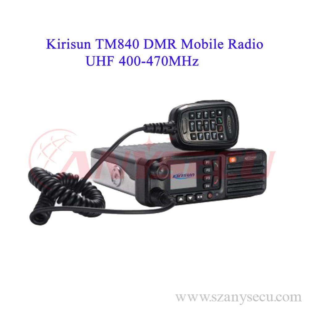 DMR ham radio transceiver kirisun TM840(DM850) digital mobile radio repeater 400 470MHz uhf transceiver