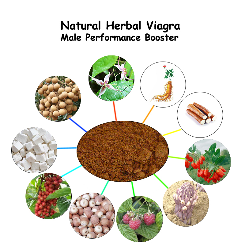Nature Herbs Revitalizer for Male Enhancement Prevent Erectile Dysfunction Sex Product made of Epimedium Ginseng Rhodiola Lycium