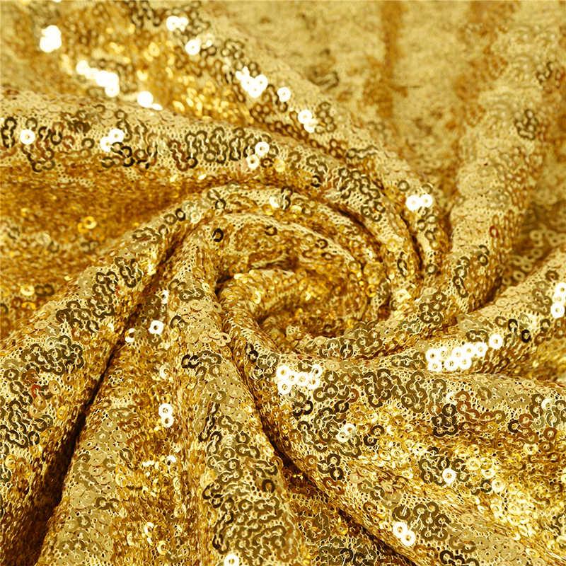 10 unids/lote 30x275cm 30x180cm oro rosa oro plata camino de mesa de lentejuelas para fiesta mantel bodas decoración caminos de mesa