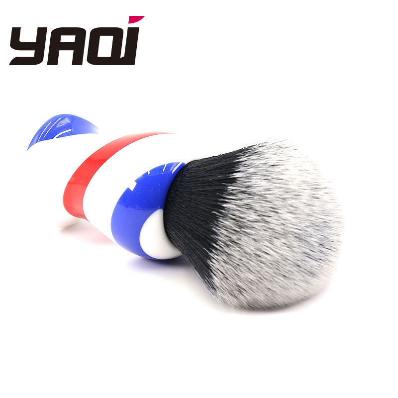Купить с кэшбэком Yaqi 30MM Monster Barber Pole Color Shaving Brushes