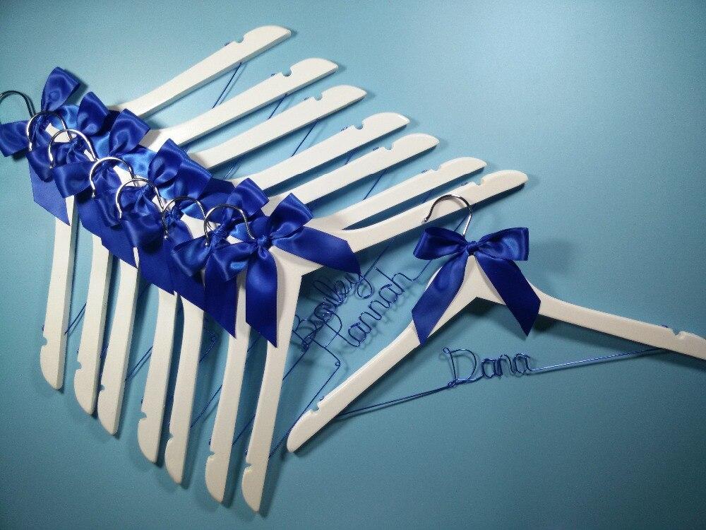 Livraison gratuite 16 cintre de mariage personnalisé, cadeaux de demoiselle d'honneur, cintre de nom, cadeau de mariée de cintre de mariées