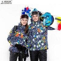 Зимняя куртка Для мужчин лыжный костюм женский мужской куртки Для мужчин легкий пуховик мужской Утепленная одежда сноуборд молодежи средн