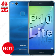 Küresel Firmware Huawei P10 Lite 4 GB 64 GB Android 7.0 Akıllı Telefon 4G LTE Octa Çekirdek 5.2