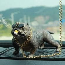 Super Cool Bully Dog Car Dashboard Decorations