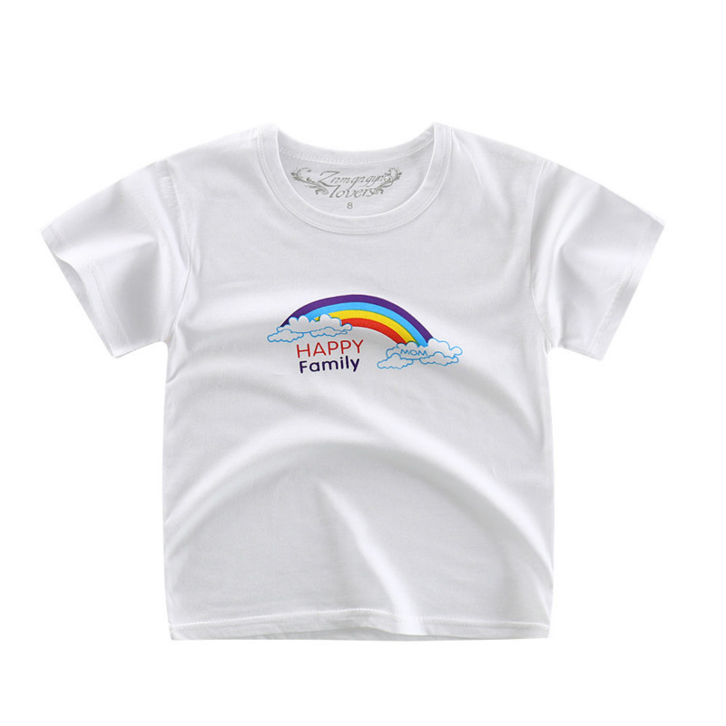 Children 39 s clothing summer 2019 summer Cotton Child short sleeved T Shirt baby single blouse male and female bottom shirt in T Shirts from Mother amp Kids
