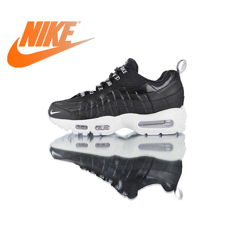 Original authentique Nike Air Max 95 Premium chaussures de course pour hommes sport respirant baskets d'extérieur 2019 nouveauté 538416-020