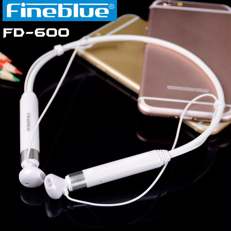 New FineBlue FD-600 Post-hanging Sports Section Stereo High-end Bluetooth Headset Anti-lost NFC Headphones