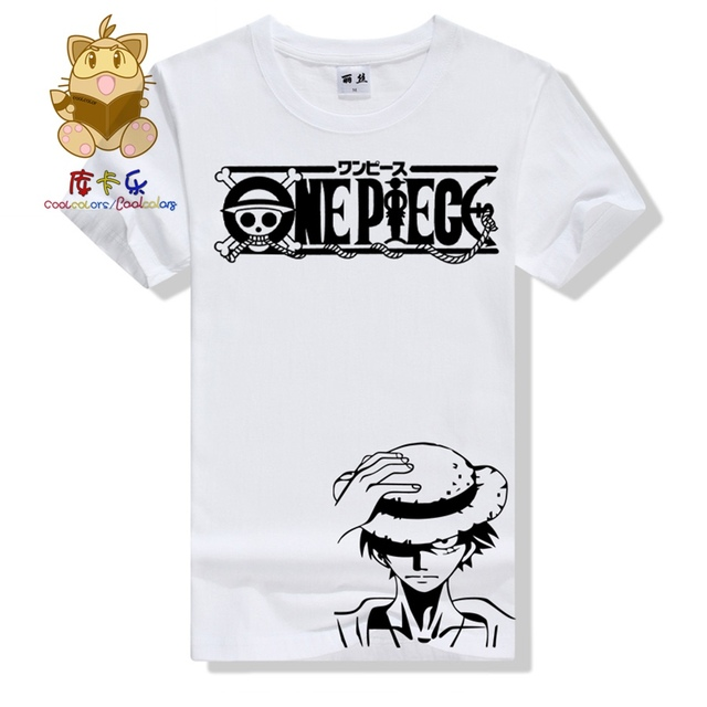 One Piece Monkey D luffy Printing T shirt
