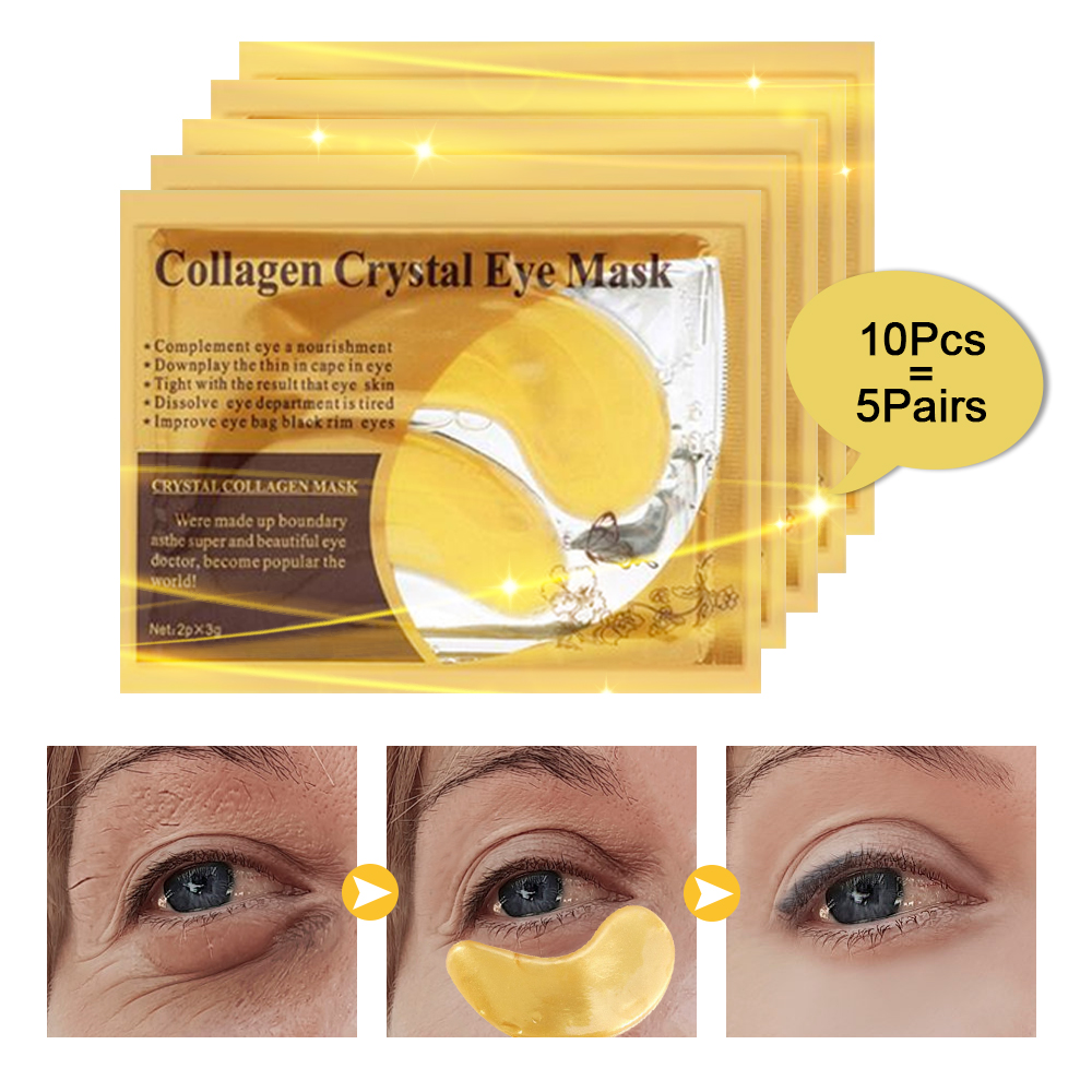 Eye-Mask Eye-Care-Patch Face-Skin-Care-Effect Treatment-Dark-Circles Crystal Collagen