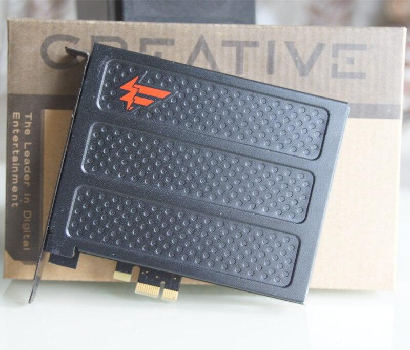 (zweite Hand) Original Für Kreative X-fi Titan Fatal1ty Pro Sb0886 Pci-e 7,1 Soundkarte Für Musik Spiele Filme Attraktiv Und Langlebig