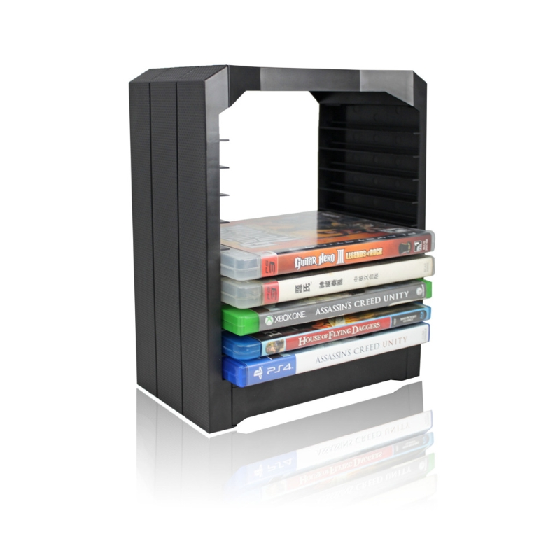 2018 Multifunctional Universal 10 Game Gaming Disk Storage Tower Holder For Xbox One PS4