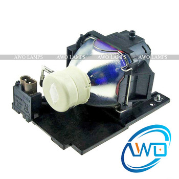 AWO New Compatible Projector Lamp CP-RX78 DT01026 with Housing for HITACHI CP-RX78/RX80W/ED-X24