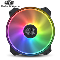 Cooler Master R4 200R 08FA R1 MF200 ARGB 20cm RGB 5V/3PIN Computer Case Damping Fan CPU Cooler Water Cooling Replaces Fans