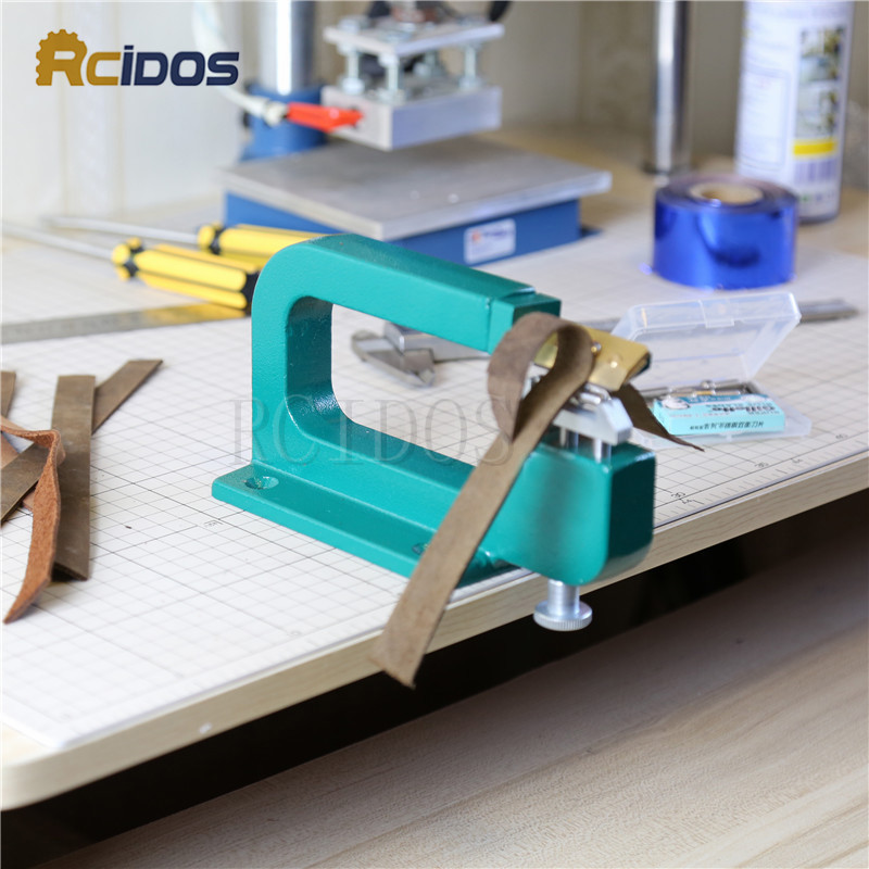 807 Leather Splitter,leather Paring Device Kit,max 35mm Width,RCIDOS Leather Skiver,vegetable Tanned Leather Peeler