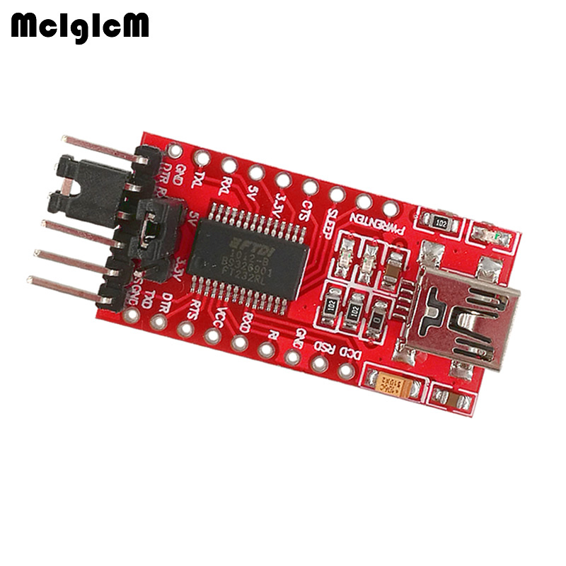 MCIGICM FT232RL FTDI USB to TTL Serial Adapter Module Mini Port 3 3V 5V Hot sale