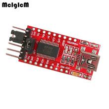 MCIGICM FT232RL FTDI USB לttl הסידורי מתאם מודול מיני יציאת 3.3V 5V מכירה לוהטת