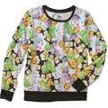New minnie Mouse girls Hoodies Zipper Kids Spring Fall Children's girls Clothes Cartoon hoody coats sweatshirt