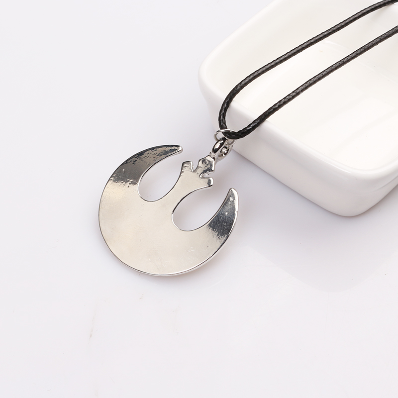 2017Hot Sell Movie Star Wars Necklace Rebel Alliance delicate Pendant necklace for fans wholesale