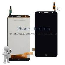 Купить 5.5 »полный ЖК-дисплей дисплей + Сенсорный экран планшета Ассамблеи для Alcatel Pop 4 + OT 5056 5056a 5056D 5056e 5056 т; черный; Новый