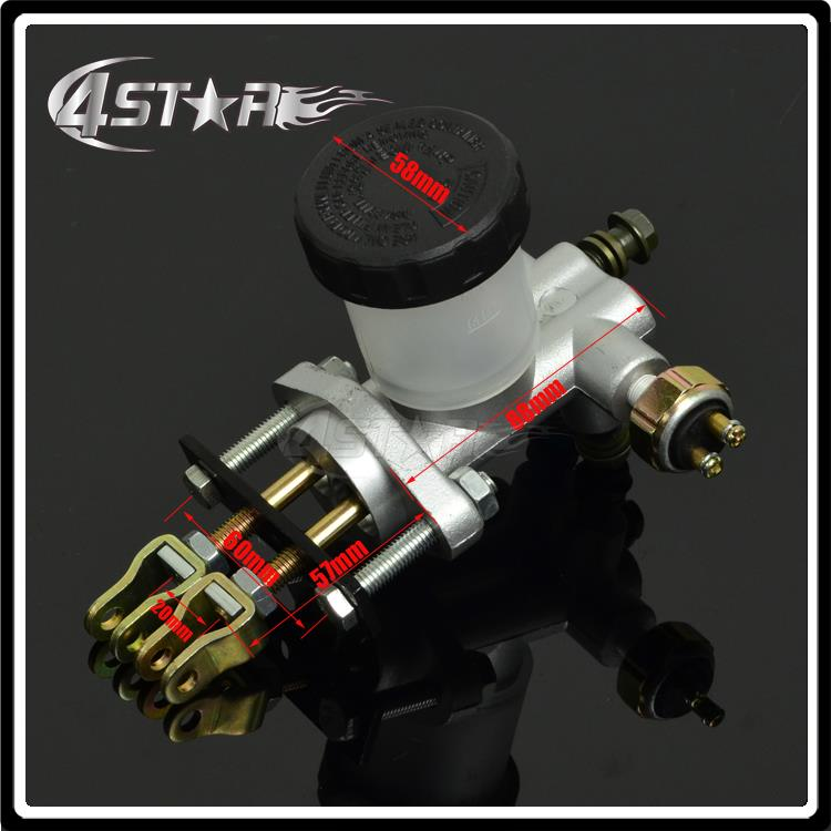 High Buggy Performance Hydraulic Brake Master Cylinder Pump Fit 125cc 150cc to 250cc 300cc Go Kart Buggy Motorcycle Motocross gy6 scooter driven wheel high performance scooterl drivern scooter fit for 125cc 150cc engine chinese all brand motocross lh 115