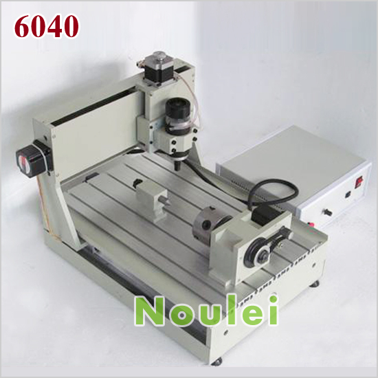 6040 cnc router 1.5KW spindle 2.2KW inverter 4 axis mini engraving milling machine USB port optional eur free tax cnc 6040z frame of engraving and milling machine for diy cnc router